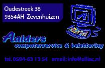 Aalders computerservice – Zevenhuizen